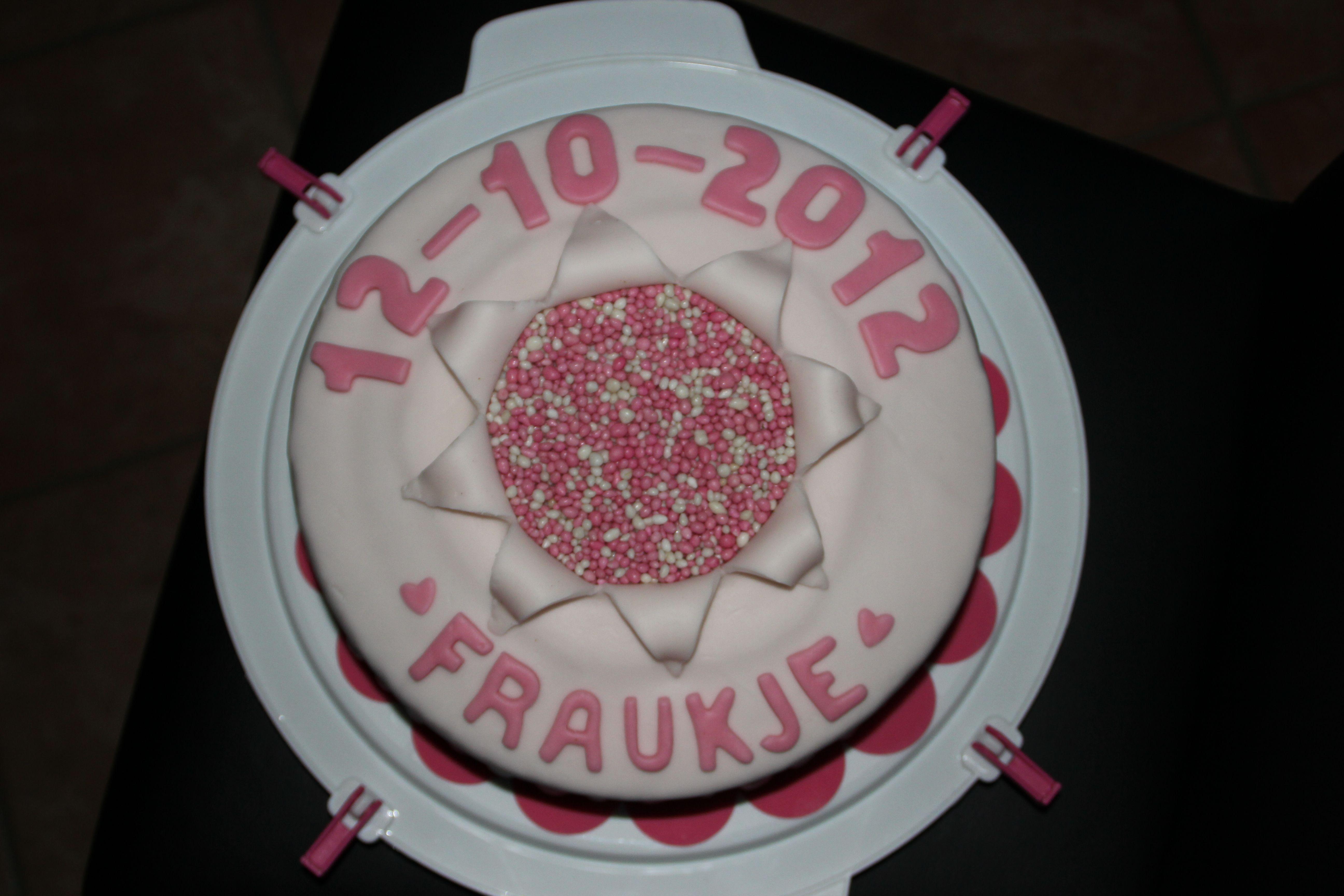 geboorte taart Geboorte taarten, Taart, Fondant