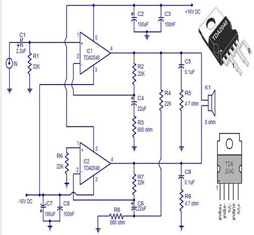 30 watts audio amplifier circuit electronics basics pinterest rh pinterest com