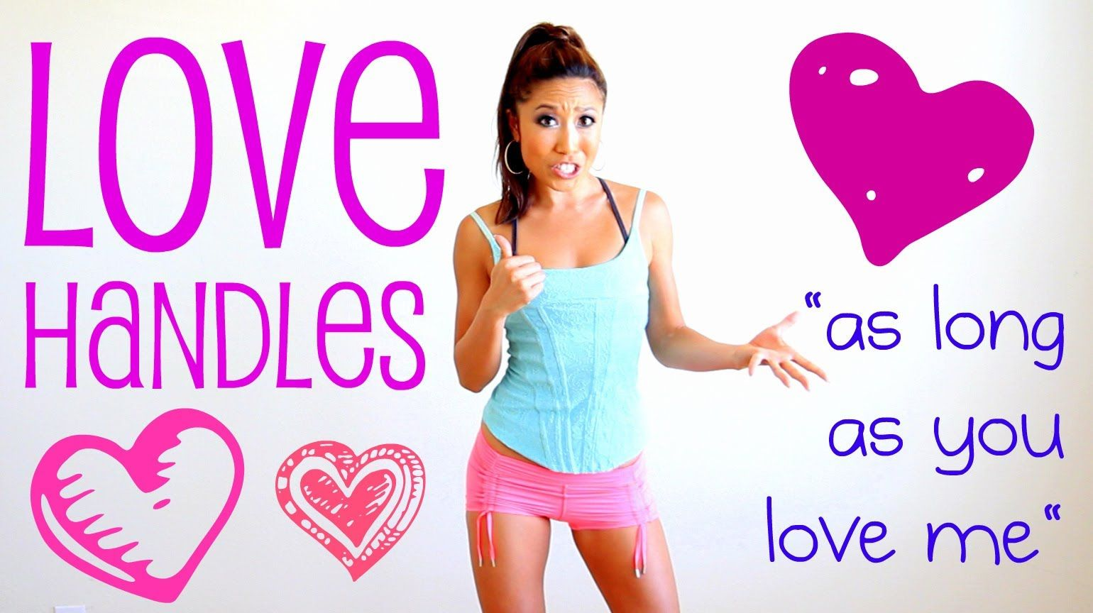 As Long as You Love Me Love Handles Challenge {candlestick dippers AHHH! So sore for days!}