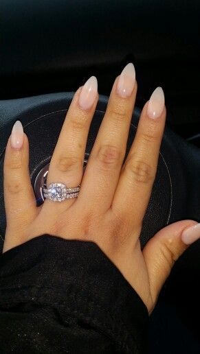Natural Almond Nails With Images Natural Almond Nails Almond Acrylic Nails Almond Shape Nails