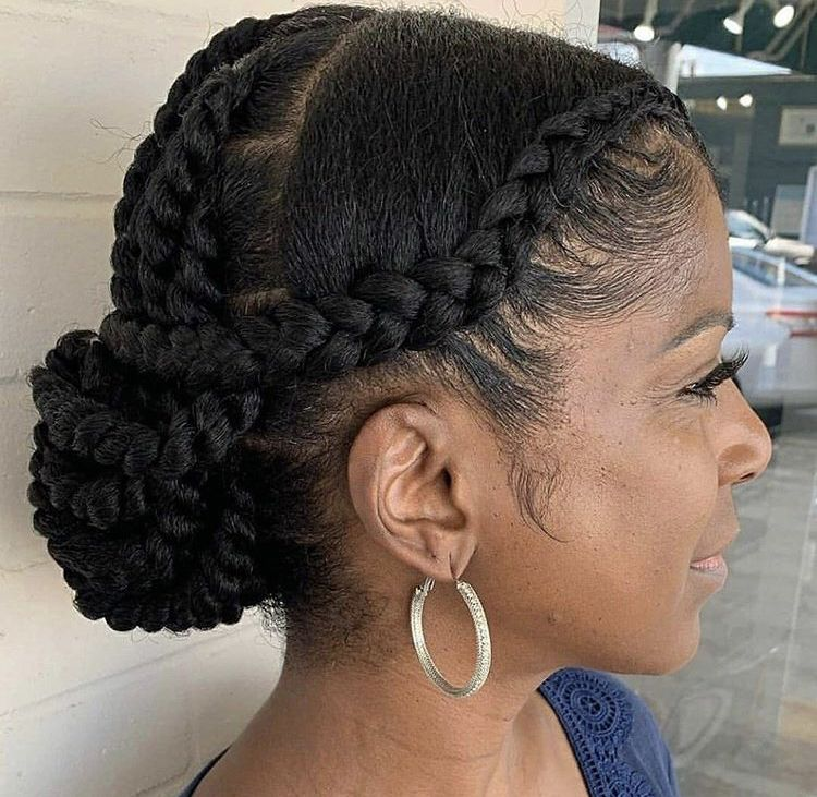 Pin By Aurora Irina On Updo S In 2020 Protective Hairstyles For Natural Hair Natural Hair Styles Easy Natural Hair Updo