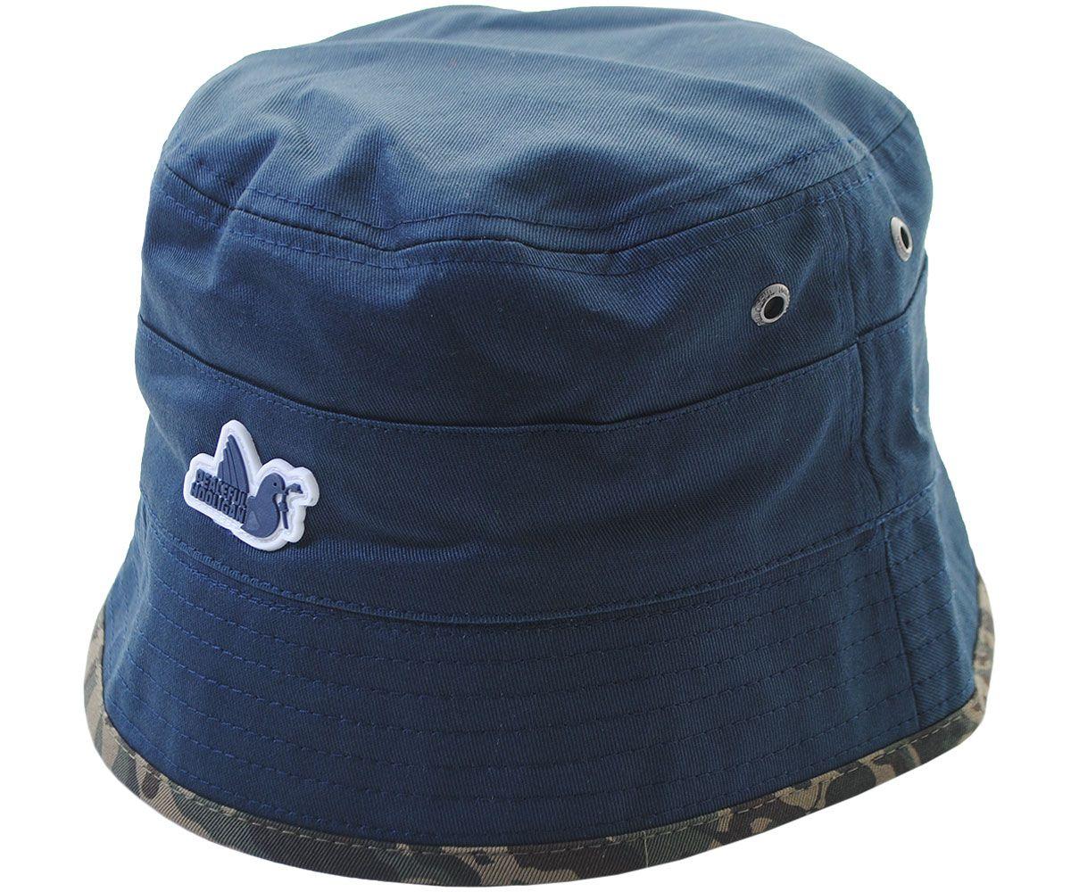 553e0ad2a1f9 Peaceful Hooligan Revolver Bucket Hat Navy Camo