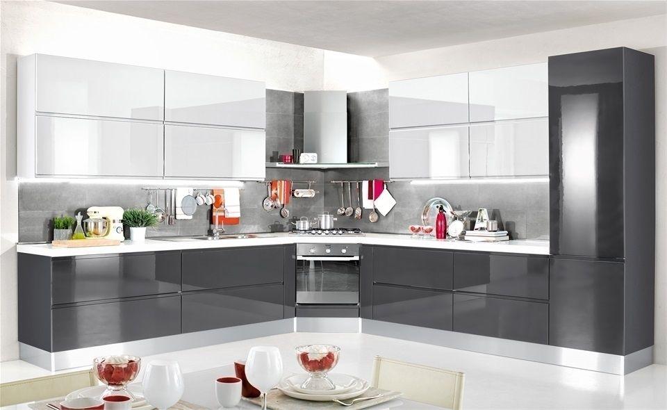 Da Mondo Convenienza Cucine Per Ogni Stile Ed Esigenza Cucina Cucine Convenienza Grigia Mond In 2020 Kitchen Cupboard Designs Kitchen Interior White Modern Kitchen