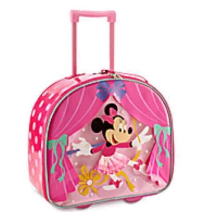 Disney Sofia The Great Rolling Luggage One Size Pink