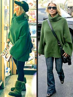 Trivia As News Jessica Simpson Really Really Loves Her Big Green Sweater Jessica Simpson Style Sweaters Jessica Simpson