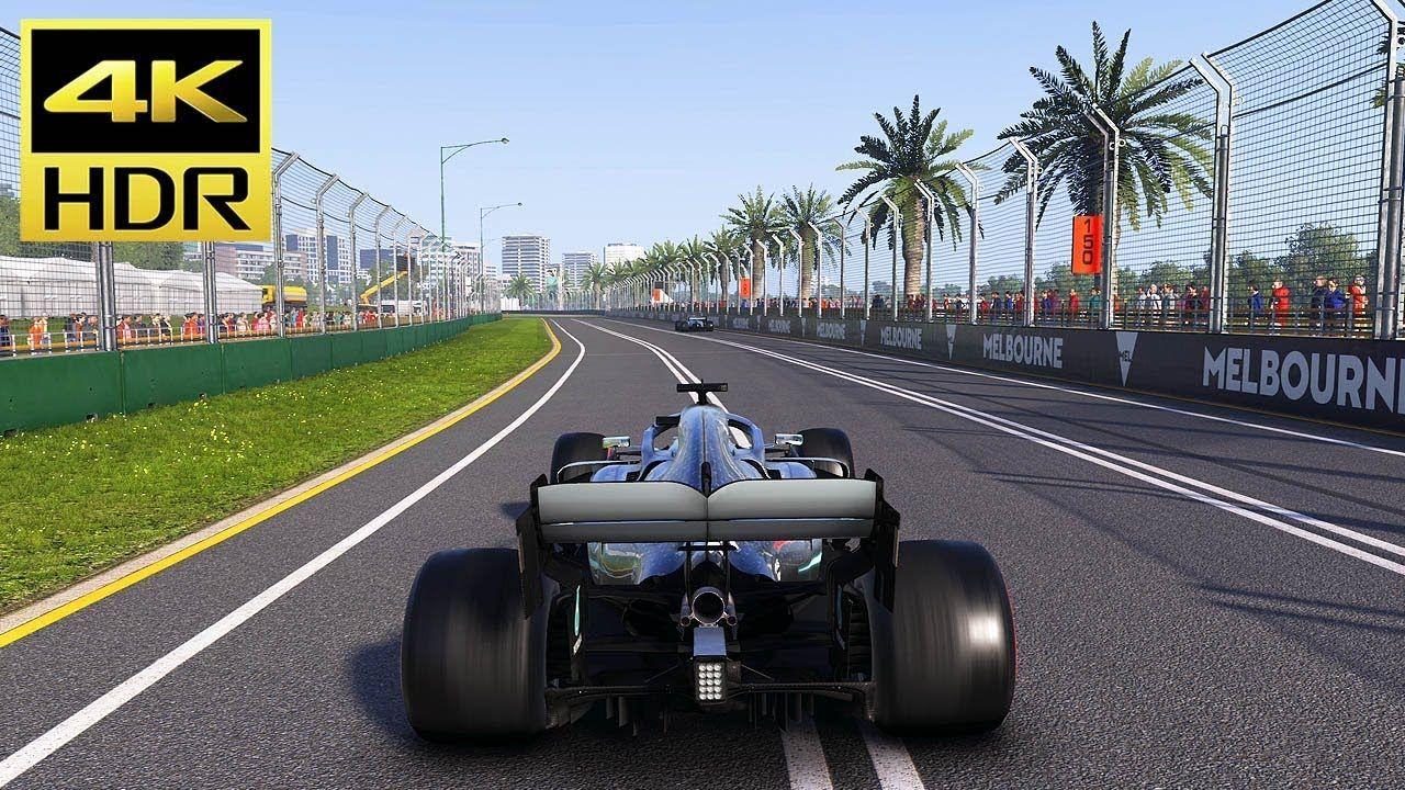 4K HDR] F1 2019 - (MERCEDES) Australian Grand Prix Gameplay
