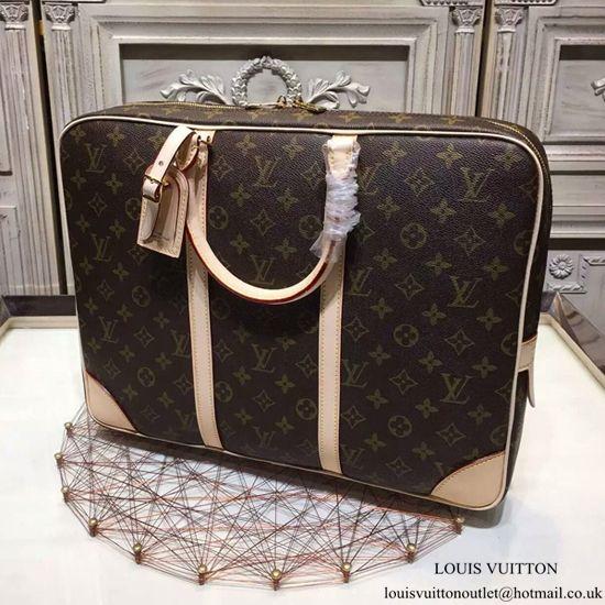 fdaf33738e Louis Vuitton M40226 Porte-Documents Voyage Briefcase Monogram Canvas