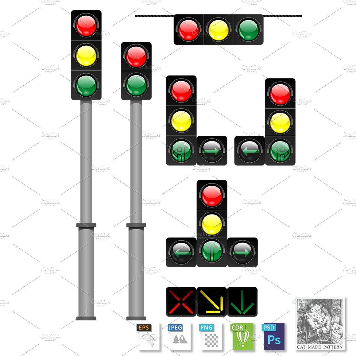 Traffic Lights In 2020 Traffic Light Gradient Mesh Traffic