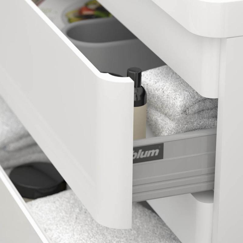 Treos Serie 920 Waschtischunterschrank inkl Waschtisch mit 2