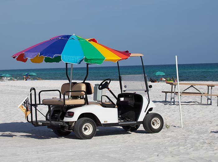 Golf Cart Rental Camp Gulf Destin Florida Rv Road Trip Campground Reviews Rv Sites