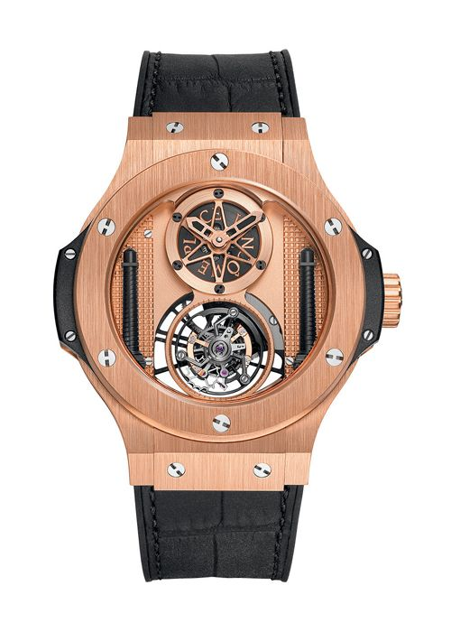 3c7f177617b Big Bang Vendôme Tourbillon Gold 44mm Complicated watch from Hublot ...