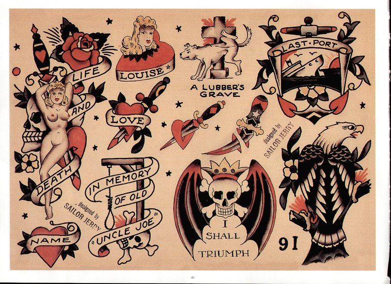Sailor Jerry Tattoo Flash Volume 2 Sailor jerry tattoo