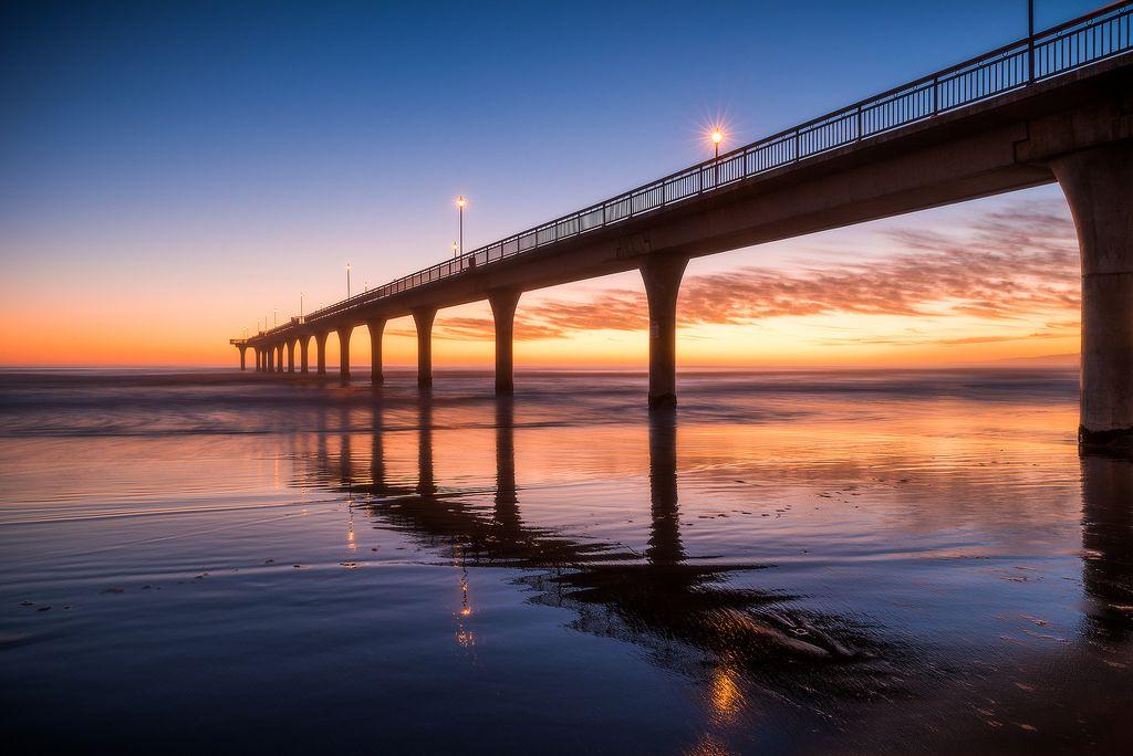 New Brighton Pier - Sunrise https://www.picturedashboard.com