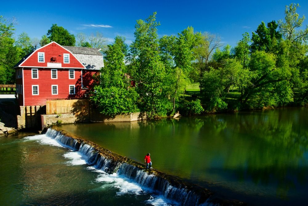 25 of the most beautiful old mills in america oh the