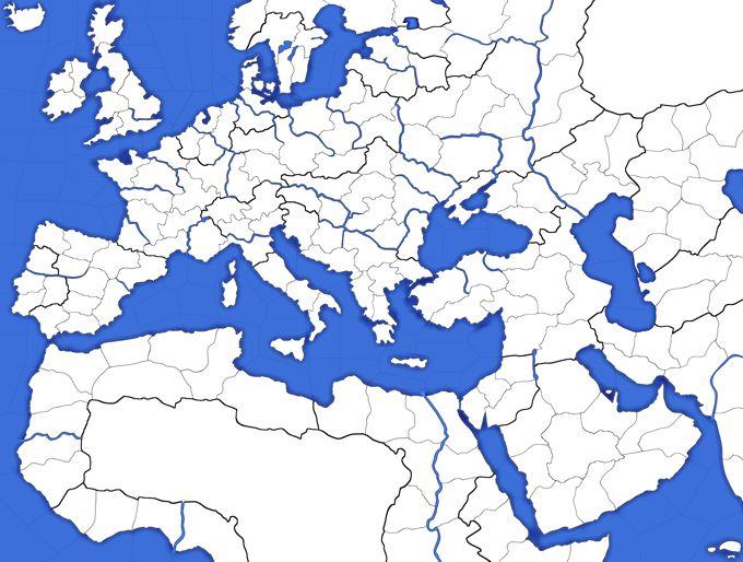 Cartina Muta Del Mediterraneo.Cartina Del Mediterraneo Da Colorare My Blog Colori Disegni Storia