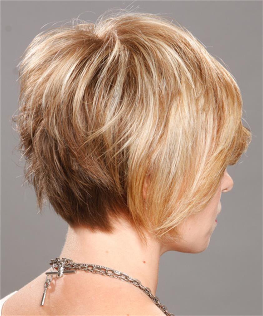 Bing Bob Hairstyle Back View Short Hair Styles Short Thin Hair Haircuts For Fine Hair