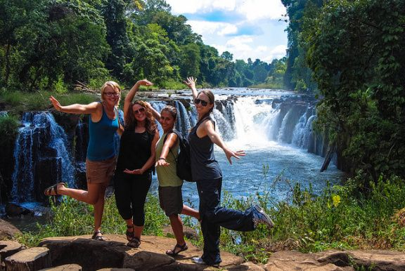 Southern Laos (The Bolaven Plateau)   Romping & Nguyening