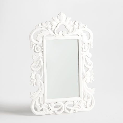 holzspiegel mit lochmuster spiegel dekoration zara home deutschland mirror pinterest. Black Bedroom Furniture Sets. Home Design Ideas