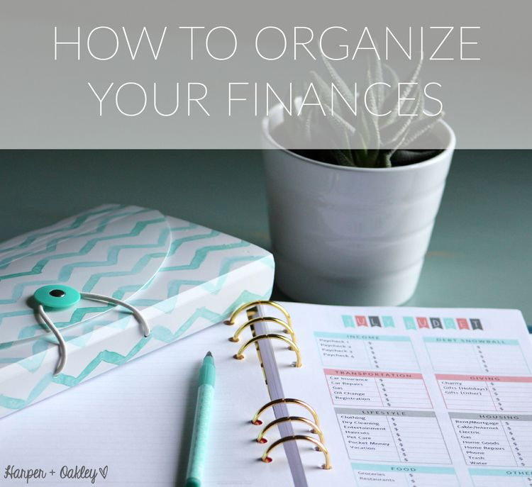 How To Organize Your Finances - Part 1 Dave ramsey, Free