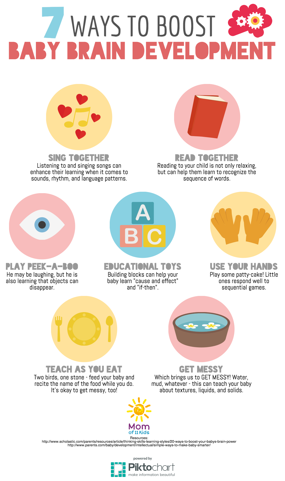 7 Ways to Boost Your Baby s Brain Development [infographic