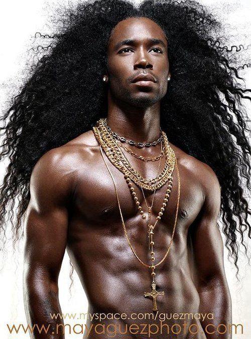 Love His Hair Zulu Pinterest Cabello Hombres Pelo Largo - Chicos-de-pelo-largo