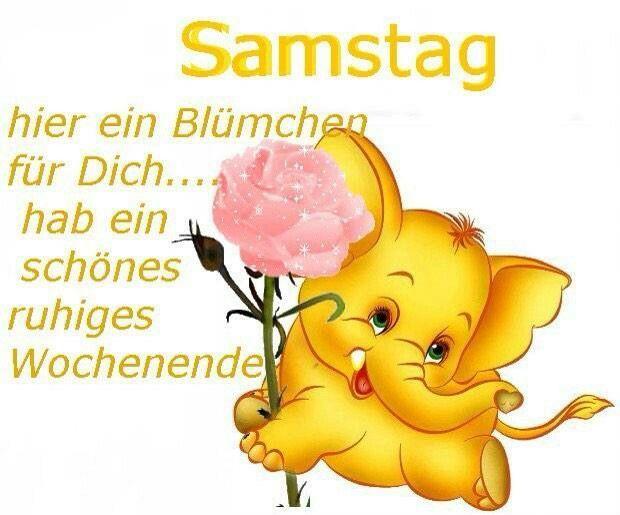 Ich Wünsche Euch Einen Schönen Samstag Guten Morgen Samstag