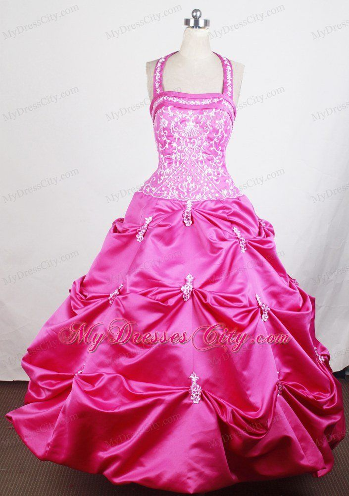 pageant dresses for girls 7-16 | lil girl pageant dresses lace up ...
