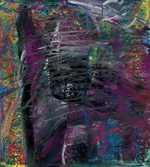 Gerhard Richter ~ Abstract Painting Violet, 1986