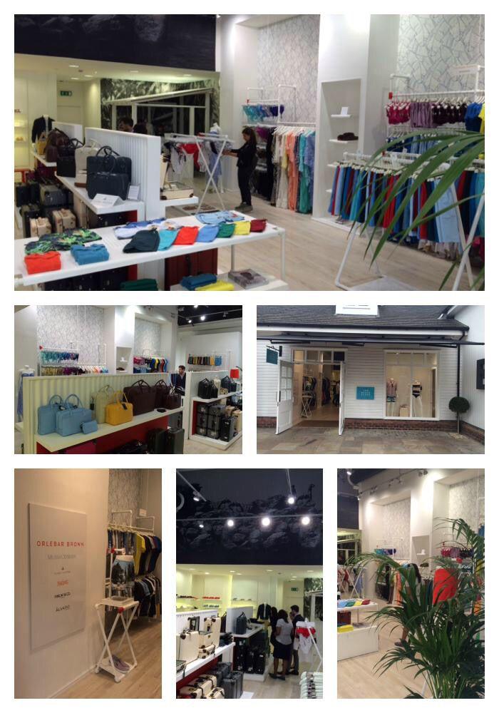 The retail store we designed at Bicester Village, Oxfordshire, UK.Orlebar Brown client. #retail #vm #design #visualmerchandising #shopping