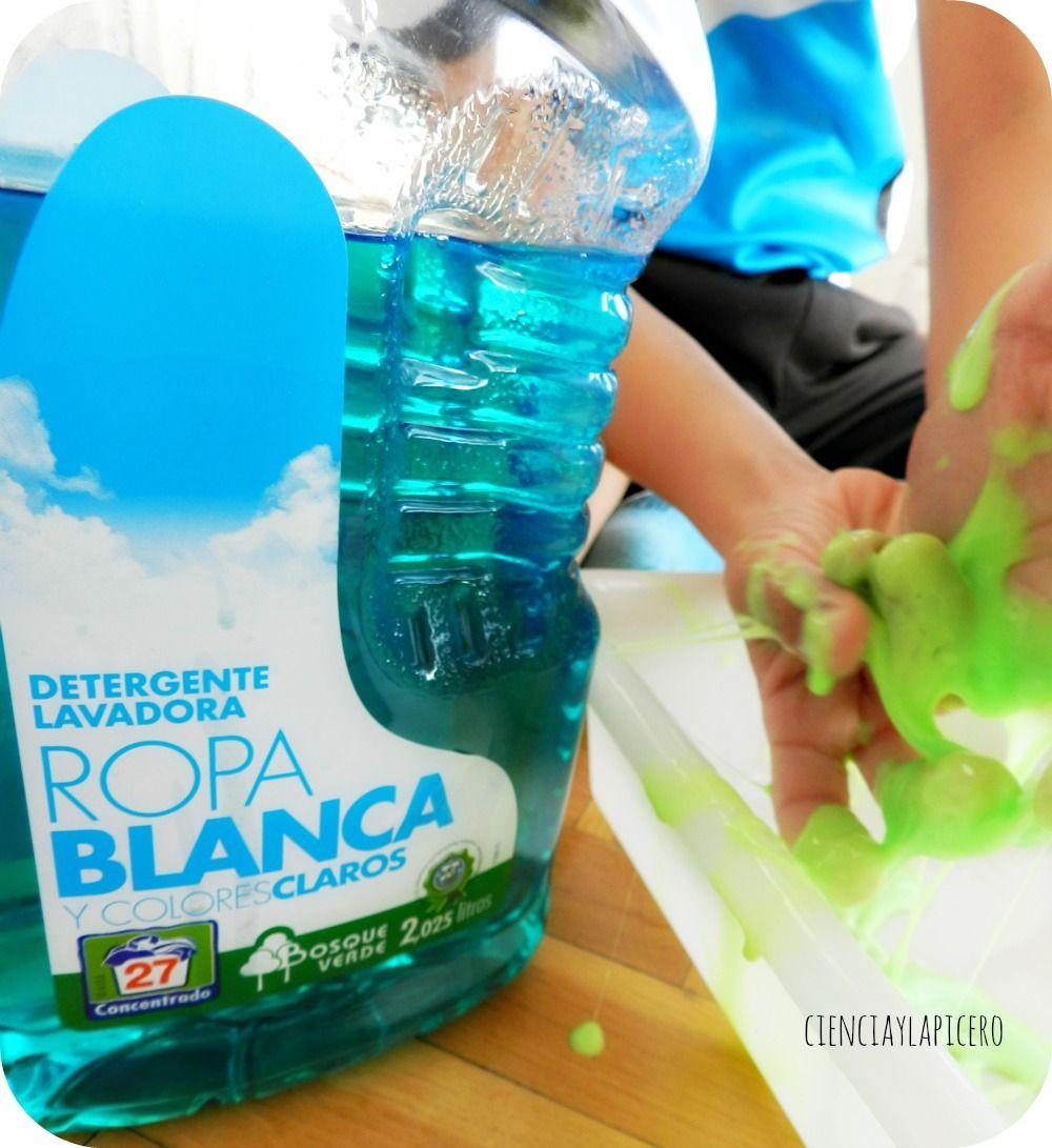 Blandiblu Casero Con Ingredientes Del Mercadona Blandiblu Slime Con Detergente Slime Casero Sin Borax