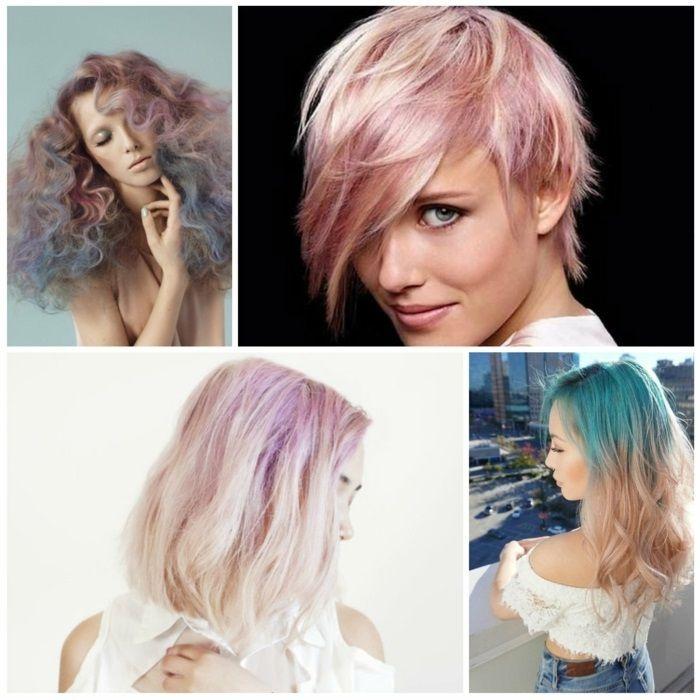 1001 Ideen Und Inspirationen Für Pastell Haarfarbe Moderne