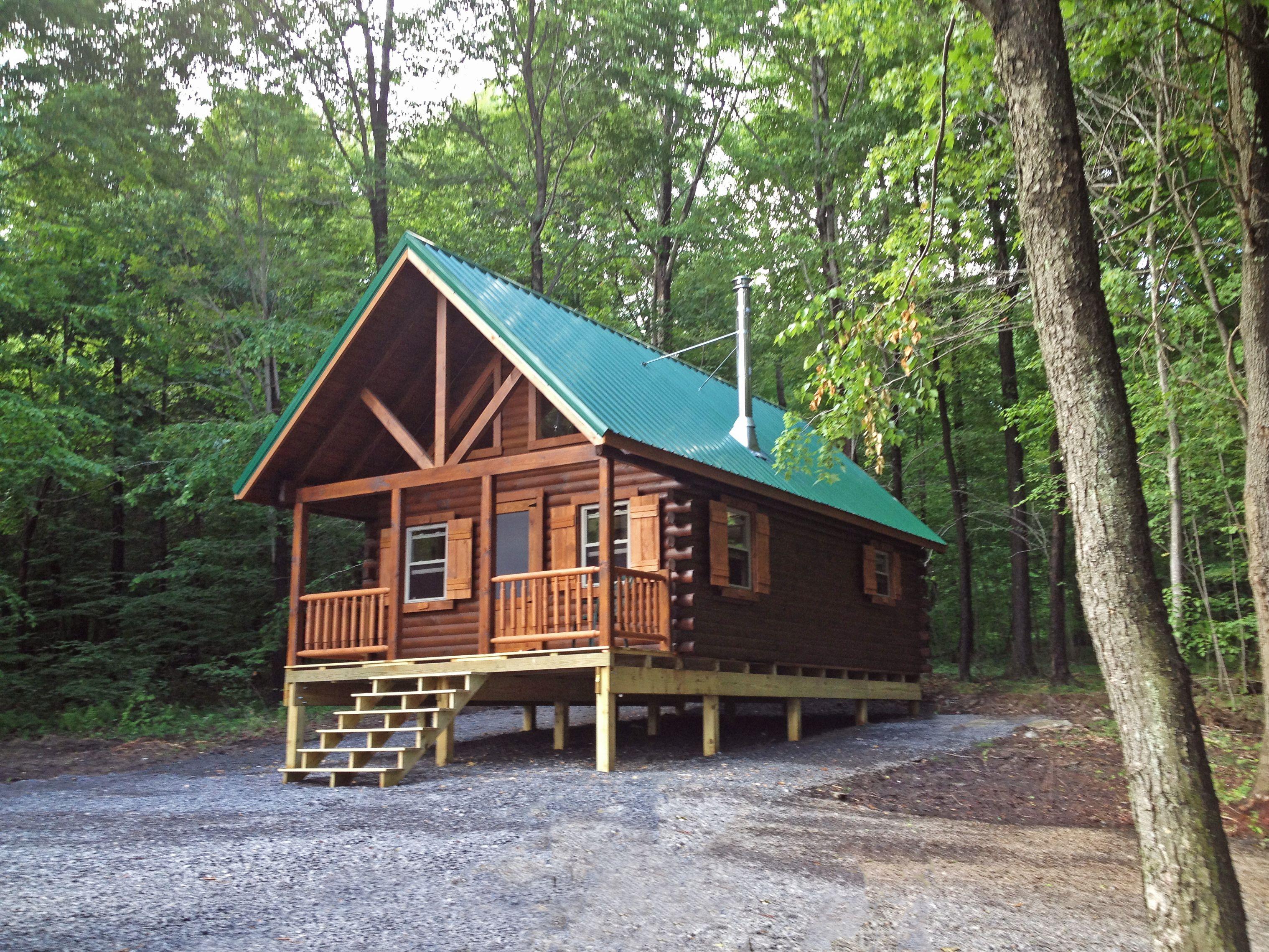 Beautiful Log Cabin We Built In Northwestern Pa Backyard Structures Cabin Log Cabin