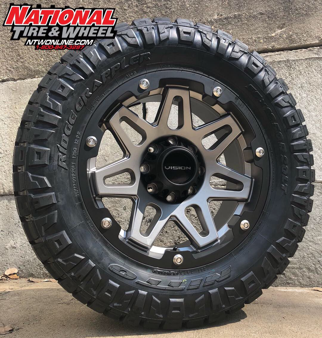 Tire Wheel Package Nitto Ridge Grappler Wheel Wheel And Tire Packages
