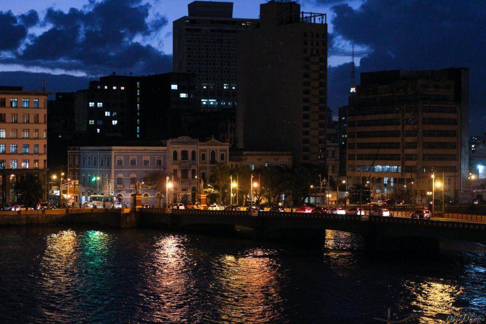 Rio Capibaribe. Recife, Pernambuco. Brasil.