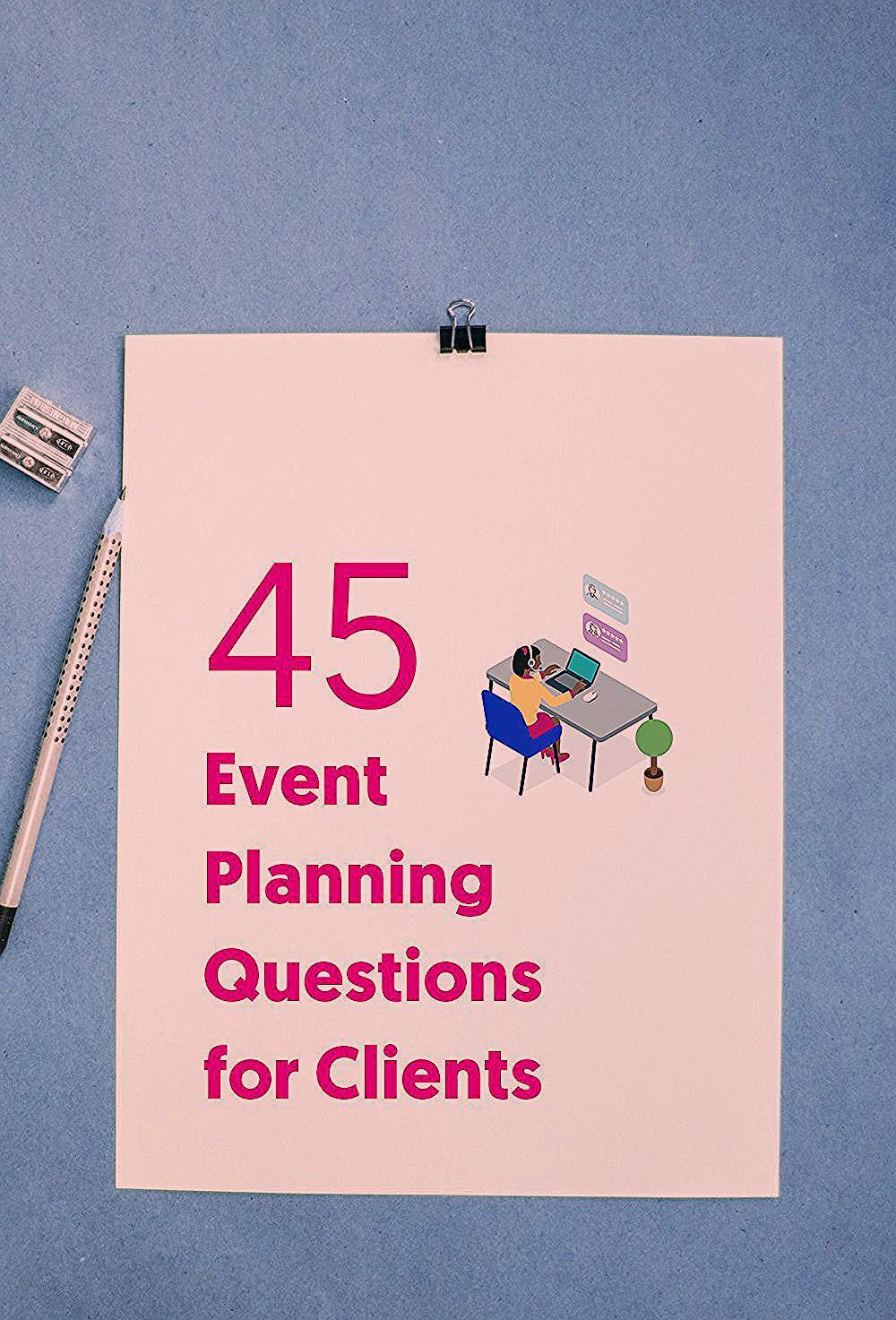 Photo of How to create an event planning questionnaire