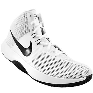 the best attitude 98ded d271c Nike Air Precision Basketball Shoes - Mens White Black Cool Grey