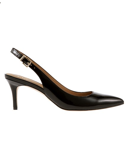 The Perfect Pointy Toed Slingback Kitten Heel Used To Be A Work