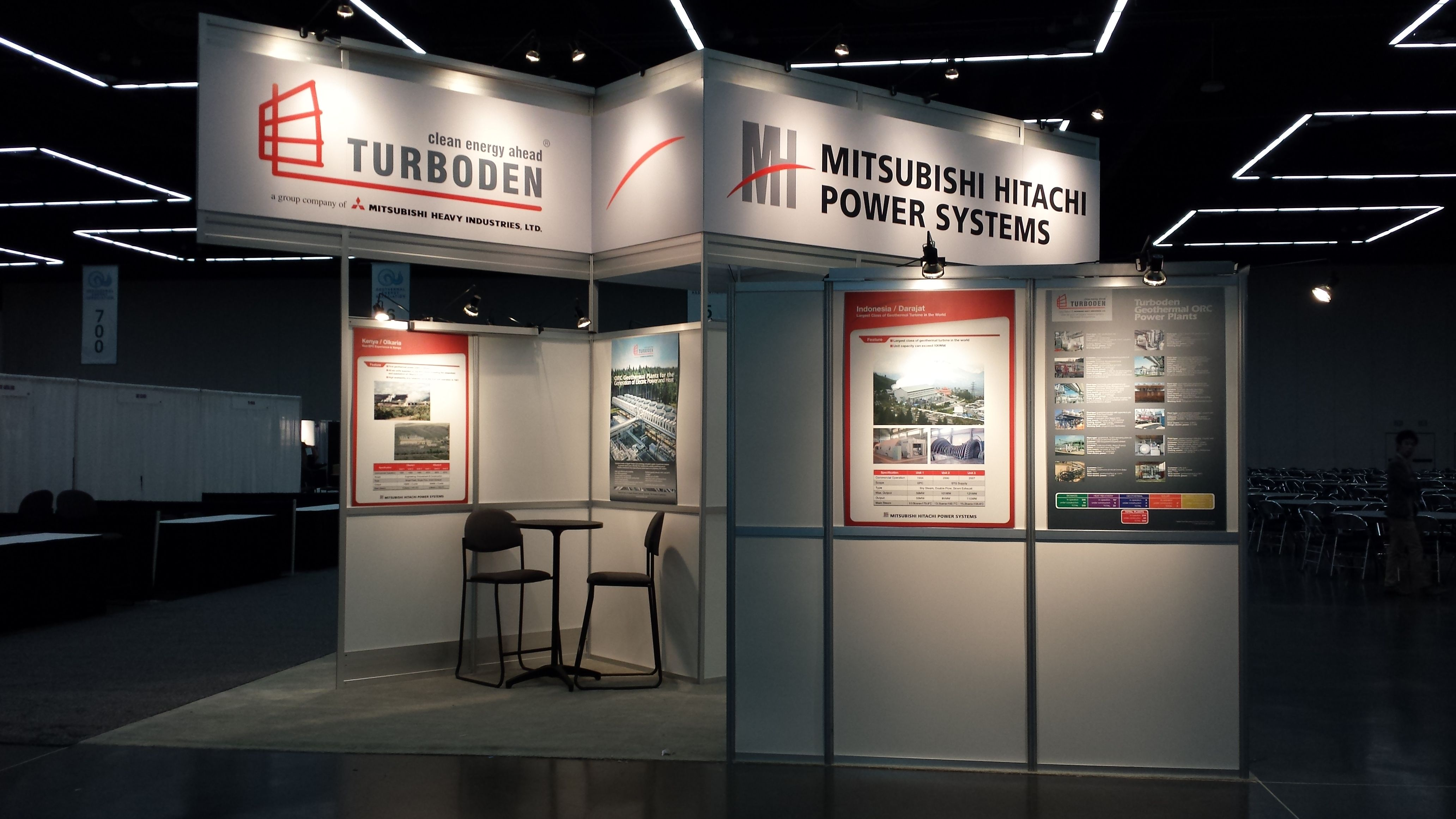Mitsubishi Hitachi Power Systems Booth exhibit booth design