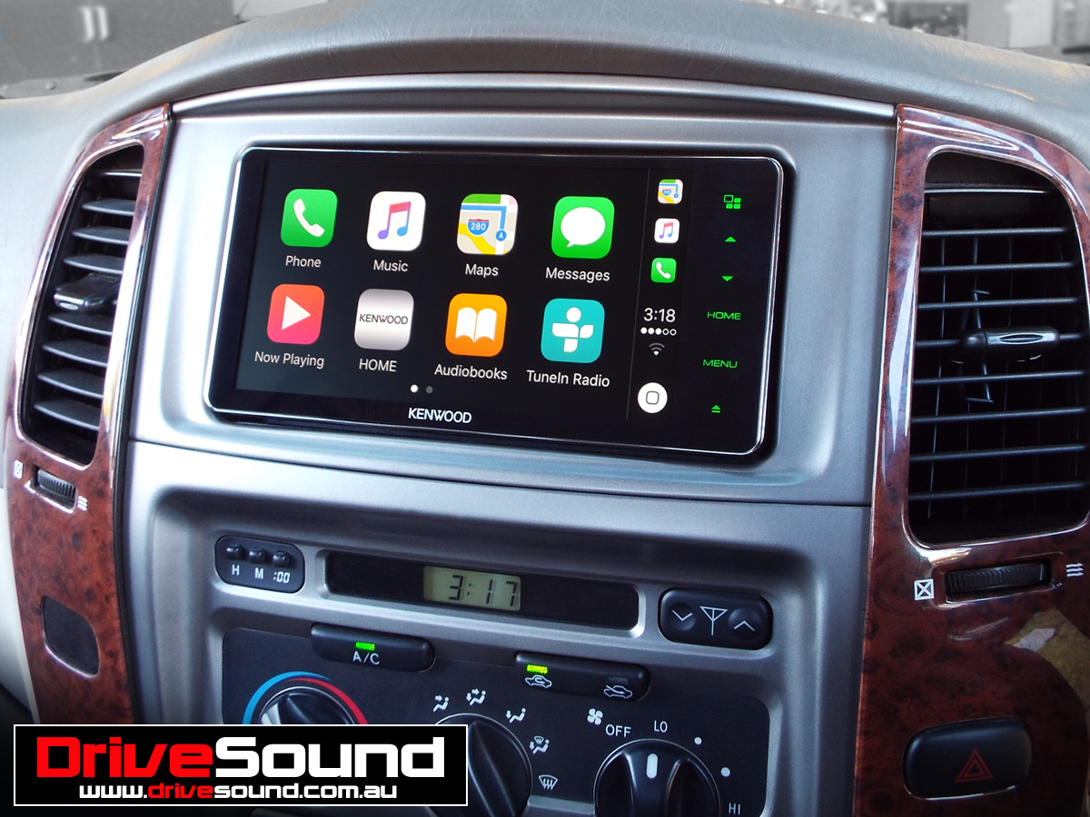 Toyota Land Cruiser With Apple Carplay Installed By Drivesound
