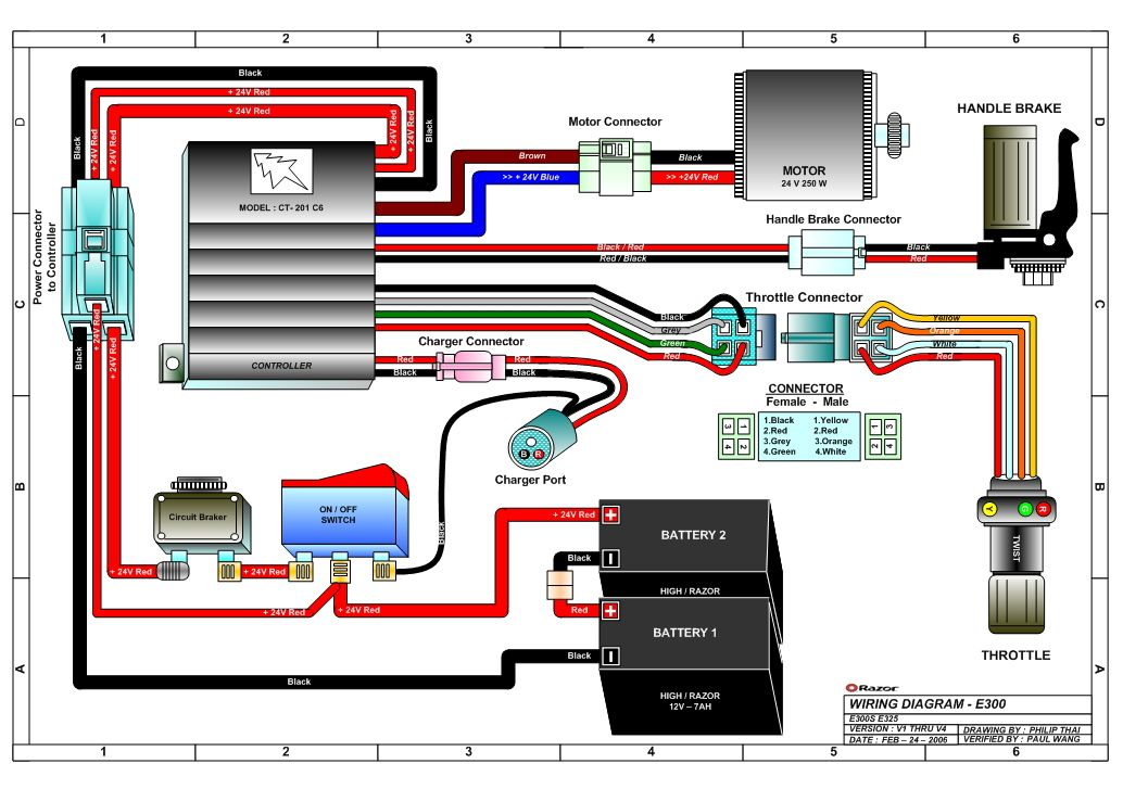 Pulse Scooter Wiring Diagram - Trailer Breakaway Wiring Diagram for Wiring  Diagram Schematics | Pulse Scooter Battery Wiring Diagrams |  | Encor Termotecnica