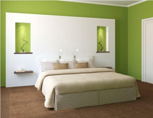 schlafzimmer farbgestaltung beispiele | schlafzimmer | pinterest ... - Wandfarbe Im Schlafzimmer