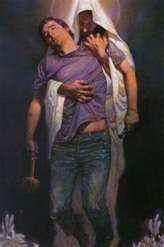 """Ele disse: """"Nunca te abandonarei, jamais te esquecerei."""" Louvado seja o Senhor nosso Deus."""