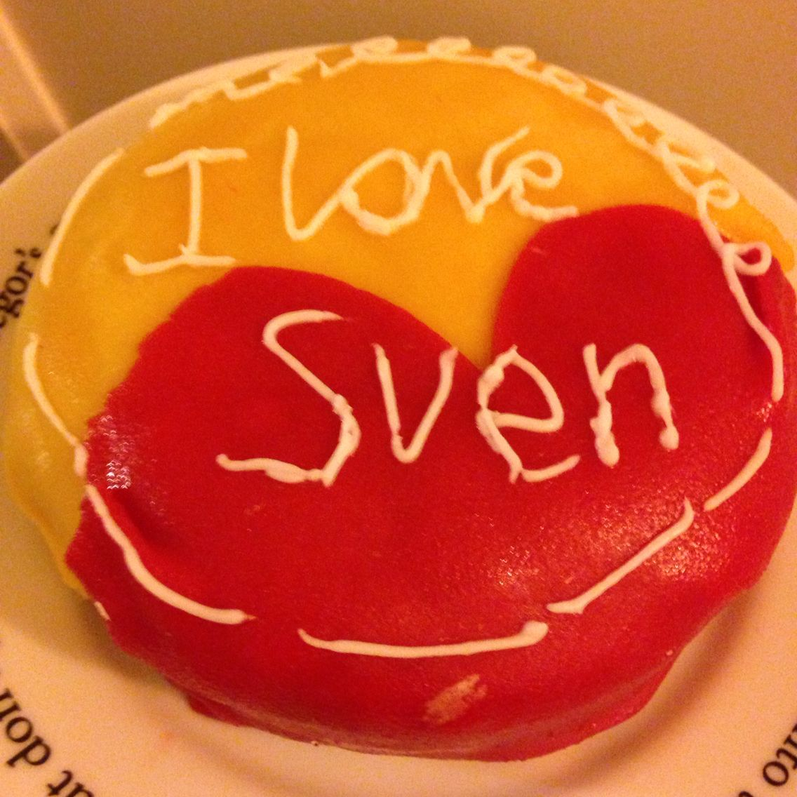 Mini liefdes taart