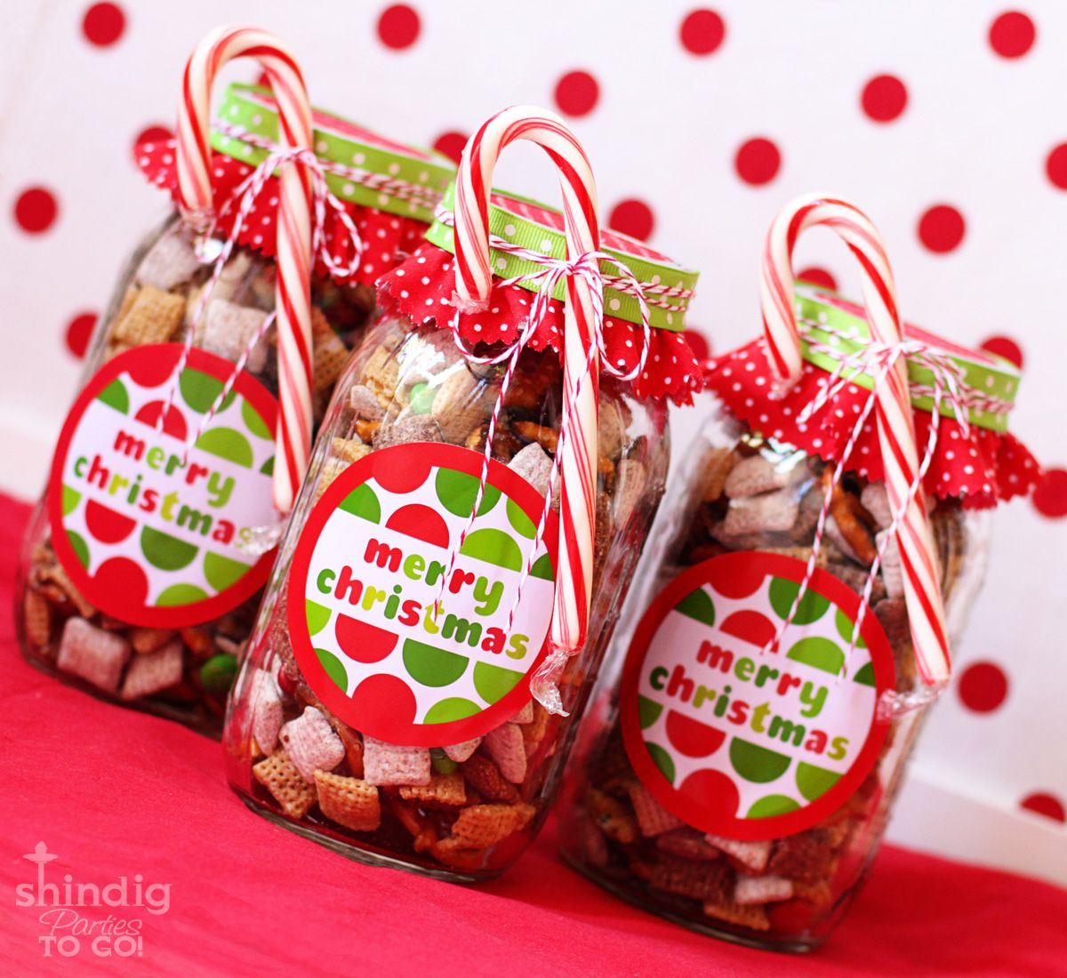 Good Free Gift Ideas For Christmas Part - 5: Amandau0027s Parties TO GO: FREE Merry Christmas Tags And Gift Idea