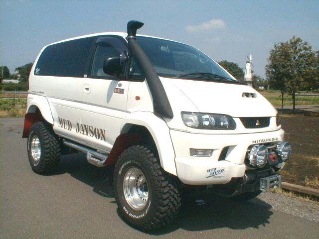 Mitsubishi Delica Chamonix 4WD OffRoad Camper Van 4x4