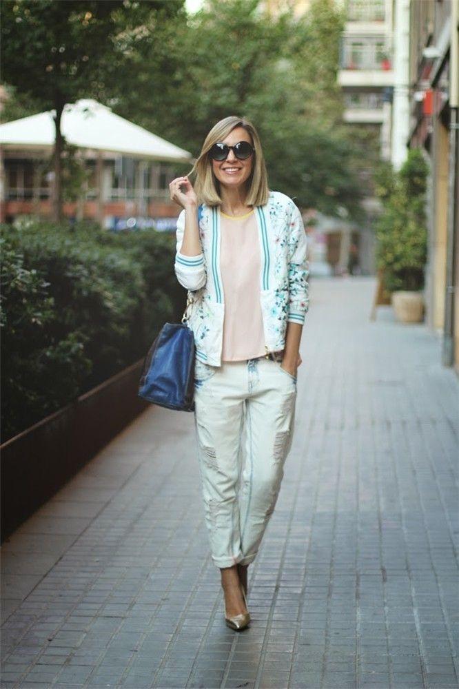 Photo of La mejor moda bloguera de la semana: pantalones rotos