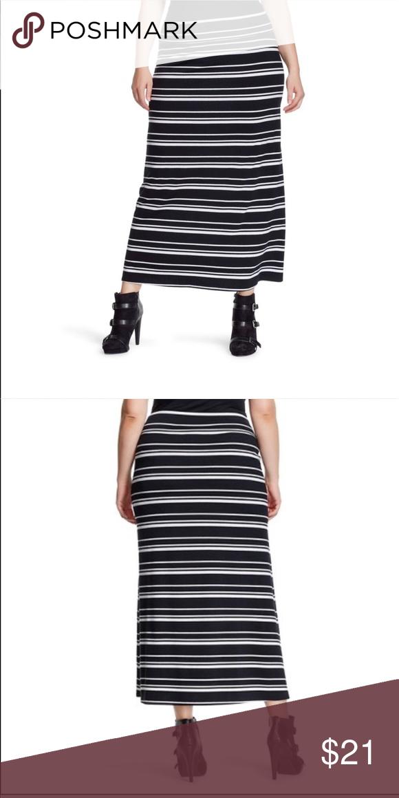 Plus Size High Waisted Maxi Skirt Long Floor Length Knit For Women Usa