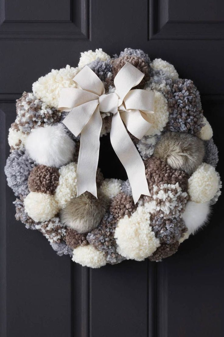 Photo of 63 Christmas wreath ideas to give your front door a festive cheer