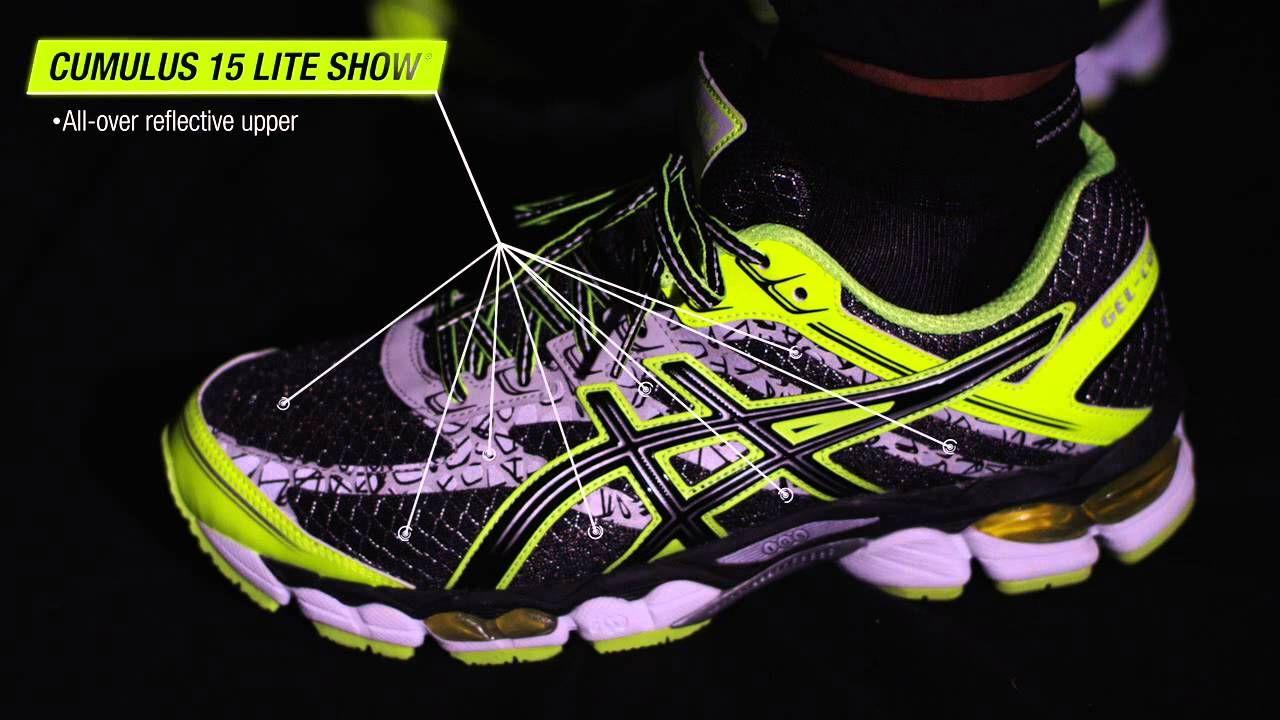 ASICS Lite-Show Reflective Technology