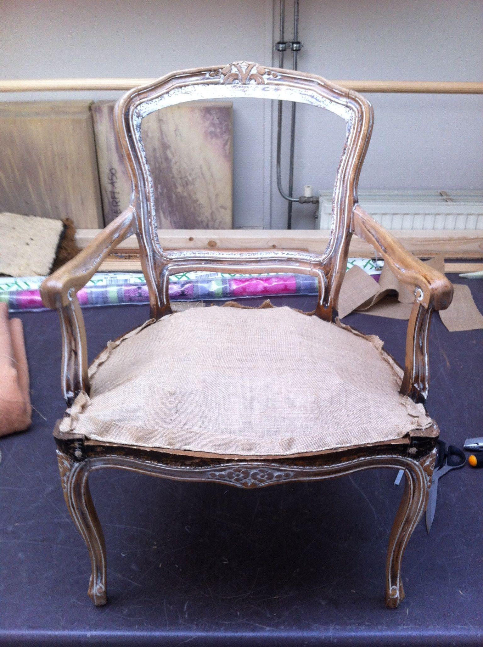 Cheap van een barok stoel stap door van der drift for Bauhaus stoel leer